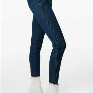 J brand Alana high-rise crop skinny jeans size 25